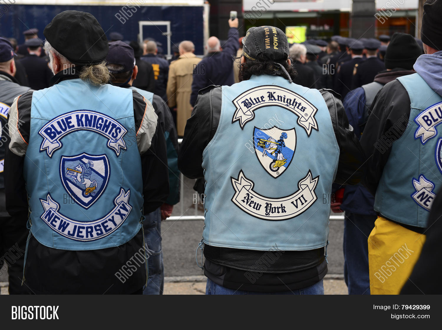 Blue knights xxx motorcycle club phrase... super