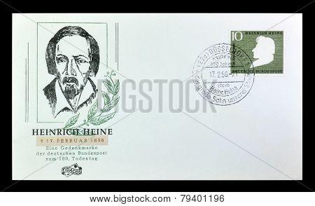 Poet Heinrich Heine