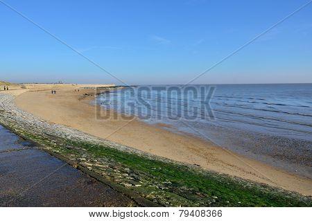 Sandy beach in Essex