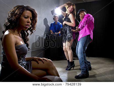 Boyfriend Caught Cheating at a Nightclub