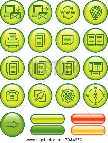 Web Icons Set (Vector)