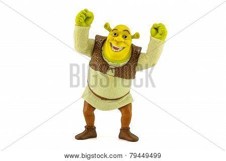 Shrek Toy Figure Model Character From Shrek The Movie.