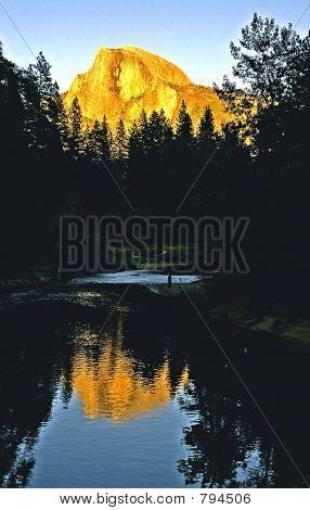 Sunset On Glacier Dome  Yosemite