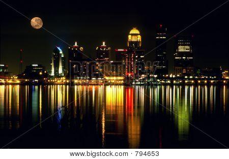 Louisville KY skyline