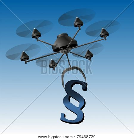 Drone Paragraph Sign