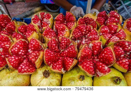 Pomegranate, Red Thai Fruit