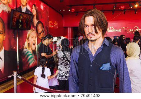 Wax Statue Of Johnny Depp