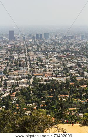 Smog Above Los Angeles