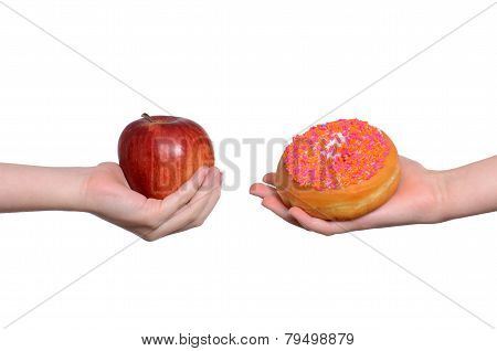 Apple And Donut