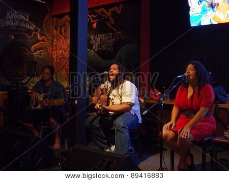 Reggae Band Guidance Band Jams At The Tropic Taphouse