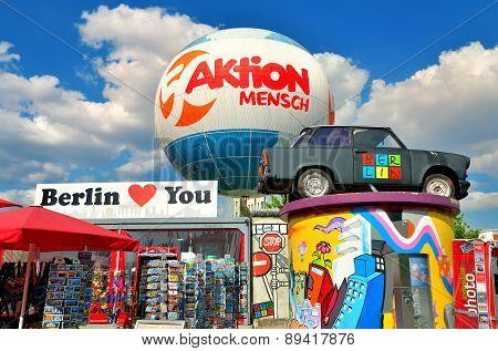 Trabant car museum in Berlin, Germany.