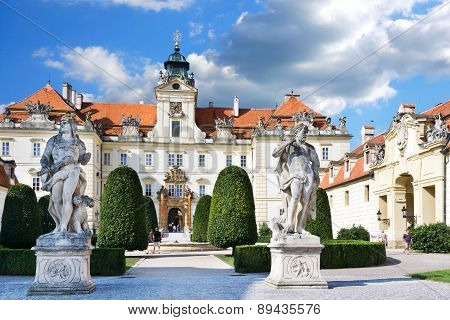 Baroque Chateau Valtice (unesco), Czech Republic