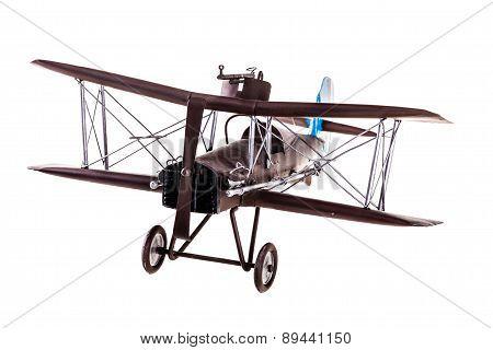 Brown Airplane Model