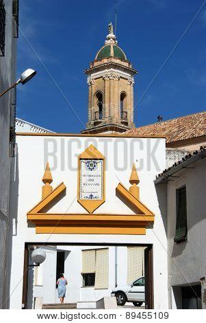Church of the Hospital, Aguilar de la Frontera.