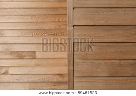 Timber Board Background Cladding detail