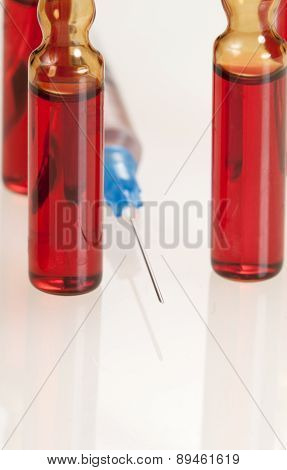 Syringe And Ampules