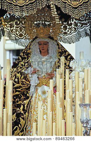 Virgin Mary Float, Malaga.