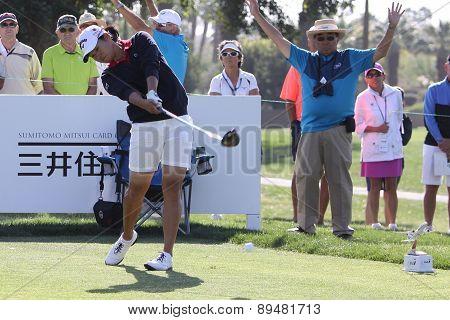 yani tseng at the ANA inspiration golf tournament 2015