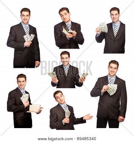 Man With Money Set