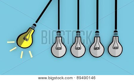 A light bulb will boost extinguished bulbs.