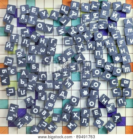 Game With Metal Cubes