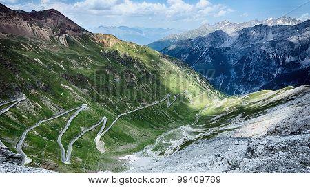 Mountain Road - Stelvio Pass