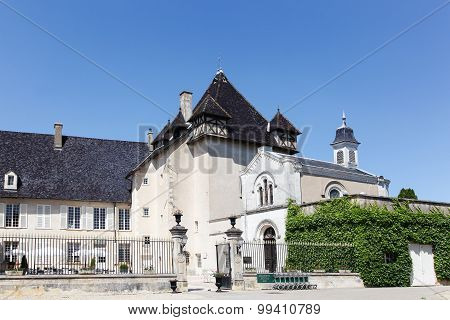 Castle of Pizay in Beaujolais, France