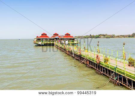 Lake Tana In Bahir Dar