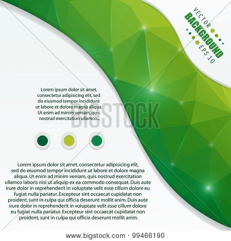 Abstract creative concept vector background for Web and Mobile Applications, Illustration template d