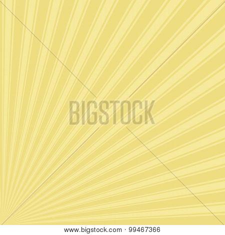 Buff Color Stripe Funky Sun Rays Backgound