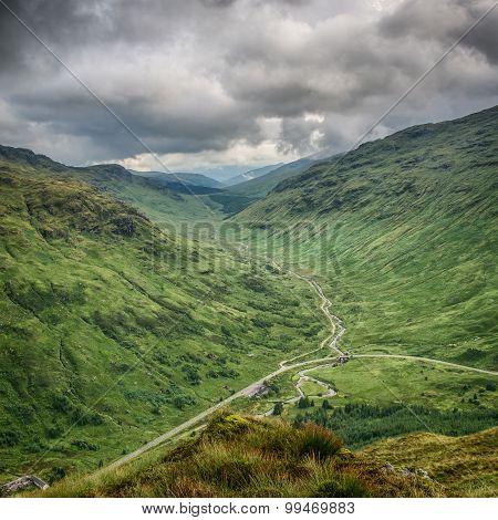 Glen Kinglas, Scottish Highlands