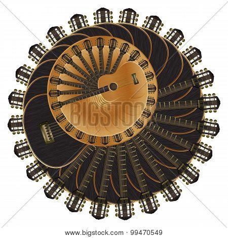 Circles Of Acoustic Guitar