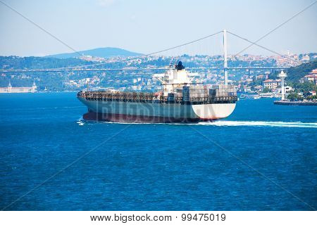 Navigation In Bosporus