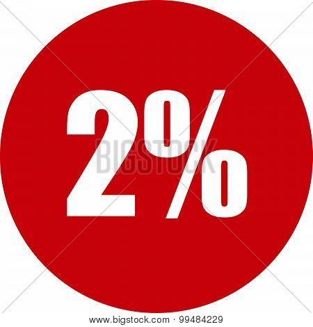 2 Percent Icon