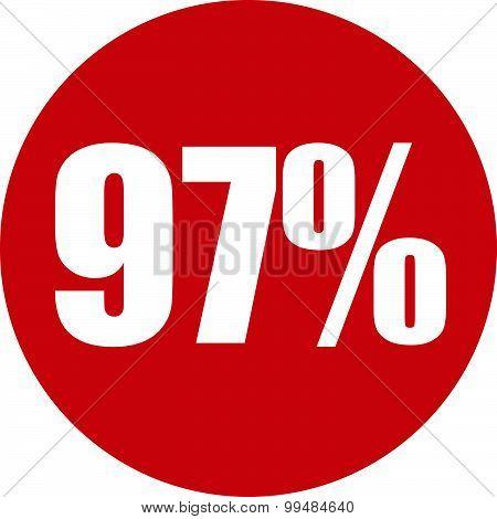 97 Percent Icon