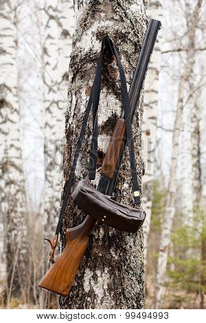 Gun And Bandoleer