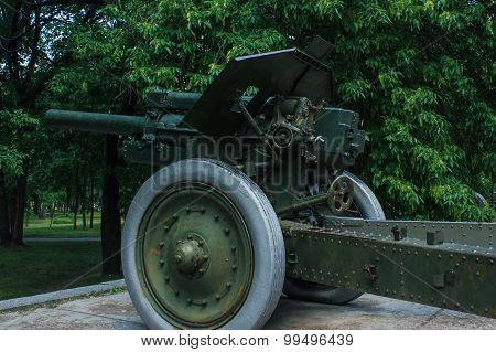 old greenness cannon gun