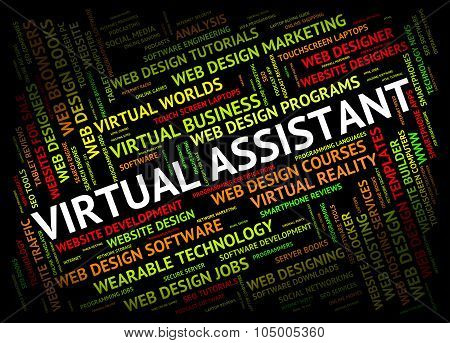Virtual Assistant Shows Independent Contractor And Pa