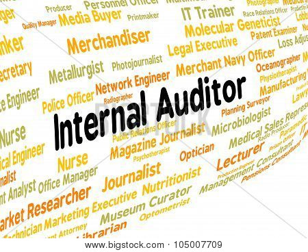 Internal Auditor Shows Hire Actuary And Recruitment