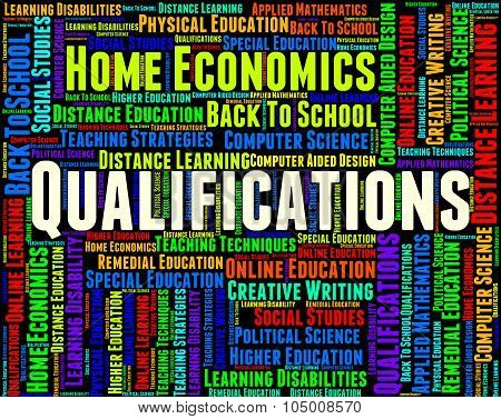 Qualifications Word Means Competent Adept And Certified
