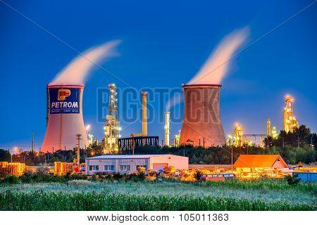 Petrom, Brazi Oil Refinery, Romania