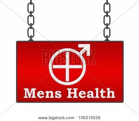 Mens Health Signboard