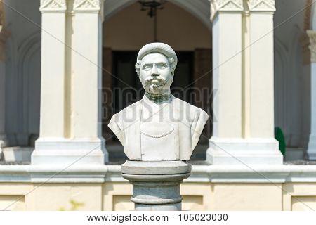 Bust Of The Maharaja Of Uttara Gano Bhaban