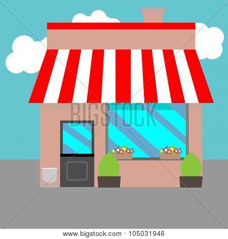Small Street Shops