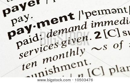 Payment Word