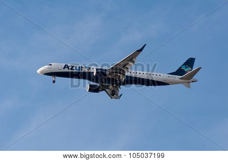 Azul Airlines Aircraft