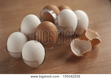 Eggs in eggholder