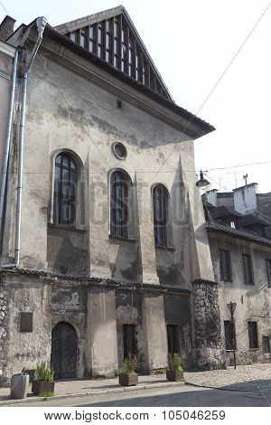 High Synagogue In Cracow , Kazimierz -jewish District, Poland