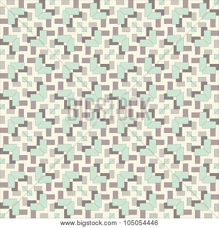 Seamless Vintage Fabric Pattern