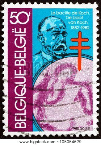 Postage Stamp Belgium 1982 Robert Koch, German Physician